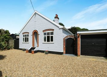 Thumbnail 3 bed detached bungalow for sale in Limes Avenue, Bramford, Ipswich