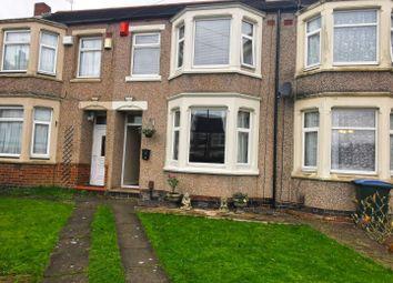 3 bed terraced house for sale in Devon Grove, Upper Stoke, Coventry CV2