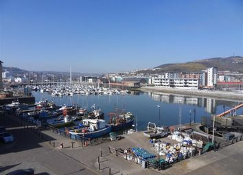 Thumbnail 2 bed flat for sale in Marina Villas, Trawler Road, Swansea