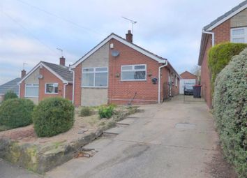 Thumbnail 3 bed detached bungalow for sale in Kendal Close, Kirkby-In-Ashfield, Nottingham