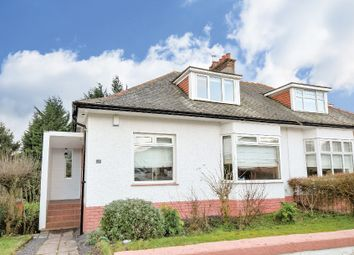 Thumbnail 3 bed semi-detached bungalow for sale in Netherpark Avenue, Glasgow
