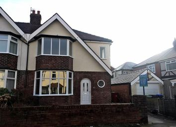 Thumbnail 3 bedroom semi-detached house to rent in Kendal Avenue, Blackpool