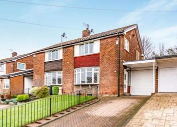Thumbnail 3 bed semi-detached house for sale in Hillcrest, Hyde, Greater Manchester