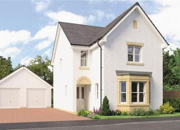 "Thumbnail 4 bed detached house for sale in ""Esk Det"" at Forthview Crescent, Currie"