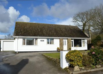 Thumbnail 5 bed detached bungalow for sale in Crowan, Praze, Camborne, Cornwall