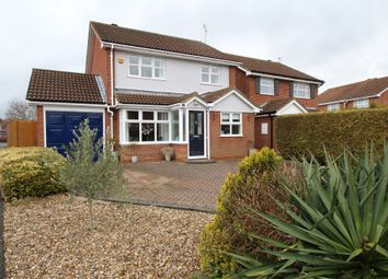 Thumbnail 3 bed detached house for sale in Nash Close, Stoke Grange, Aylesbury