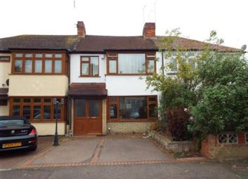 Thumbnail 3 bedroom terraced house for sale in Barton Avenue, Romford
