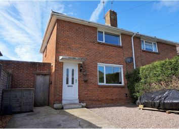 Thumbnail 2 bedroom semi-detached house for sale in Gough Crescent, Poole