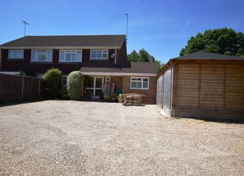 Thumbnail 4 bedroom semi-detached house for sale in Firacre Road, Ash Vale