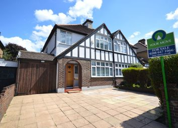 Thumbnail 3 bed semi-detached house for sale in Manor Road North, Wallington