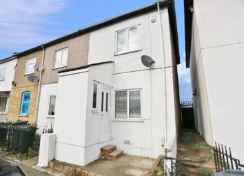 Thumbnail 2 bed end terrace house for sale in Milton Road, Swanscombe