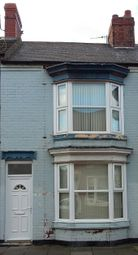 Thumbnail 2 bedroom terraced house to rent in Alfred Street, Redcar