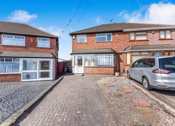 Thumbnail 3 bedroom semi-detached house for sale in Beechdale Avenue, Great Barr, Birmingham, West Midlands