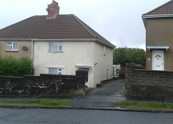 Thumbnail 3 bed semi-detached house for sale in Middle Road, Ravenhill, Swansea, Wales