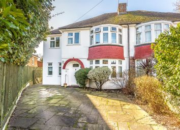 Thumbnail 4 bed semi-detached house for sale in Warren Mead, Banstead