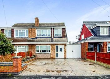 Thumbnail 3 bed semi-detached house for sale in Normington Close, Lydiate, Liverpool, Merseyside
