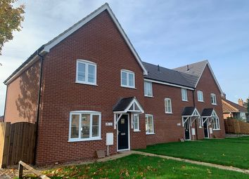 Thumbnail 3 bed end terrace house for sale in The Ellingham At The Signals, Norwich Road, Watton