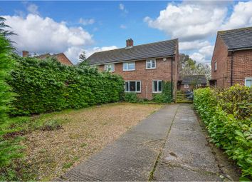 Thumbnail 3 bed semi-detached house for sale in Tithe Barn Road, Wootton