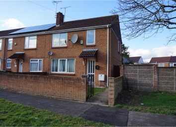 Thumbnail 3 bed end terrace house for sale in Davenham Close, Swindon