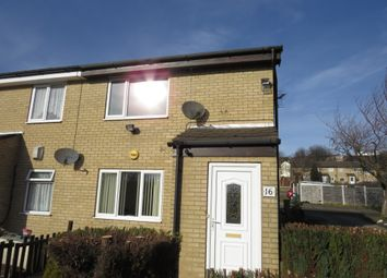 Thumbnail 1 bed flat for sale in Acaster Drive, Low Moor, Bradford