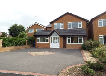 Thumbnail 4 bed property to rent in Heathlands Drive, Uttoxeter
