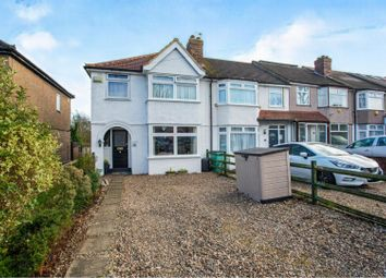 Thumbnail 3 bed end terrace house for sale in Upper Town Road, Greenford