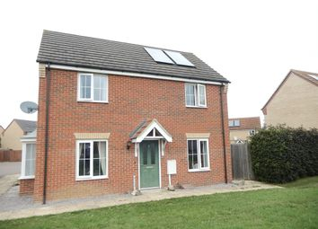 Thumbnail 3 bed semi-detached house for sale in Laxton Close, Deeping St. James, Peterborough