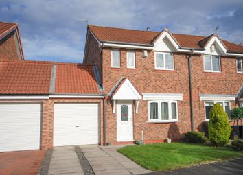 Thumbnail 3 bed semi-detached house for sale in Woodvale Drive, Hebburn