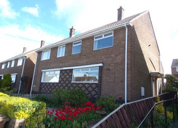 Thumbnail 3 bed semi-detached house for sale in Tynedale Crescent, Penshaw, Houghton Le Spring