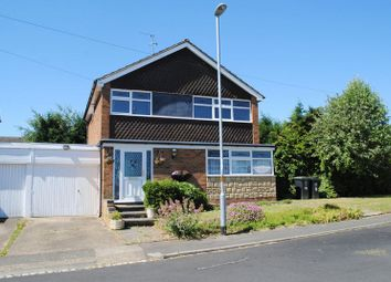 Thumbnail 3 bed detached house for sale in Loseby Close, Rushden