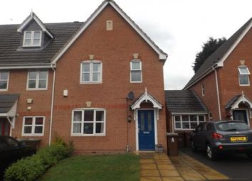 Thumbnail 3 bed end terrace house for sale in Marsden Close, Bulwell, Nottinghamshire