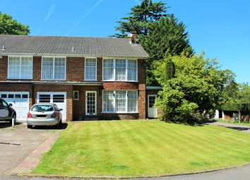 Thumbnail 4 bedroom end terrace house for sale in Highridge Close, Epsom