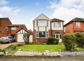 Thumbnail 3 bed detached house for sale in Western Road, Flixton, Manchester