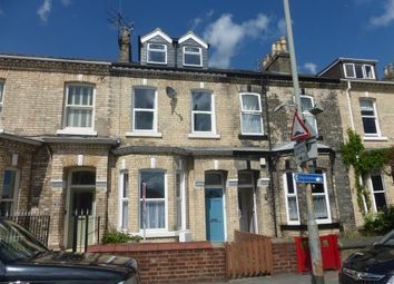 Thumbnail 4 bed town house to rent in Scarcroft Road, York