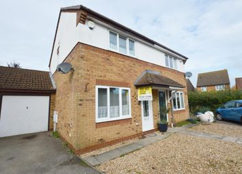 Thumbnail 2 bed semi-detached house to rent in Dickens Spinney, Olney