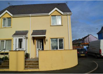 Thumbnail 2 bed semi-detached house for sale in Pennar Court, Pembroke Dock