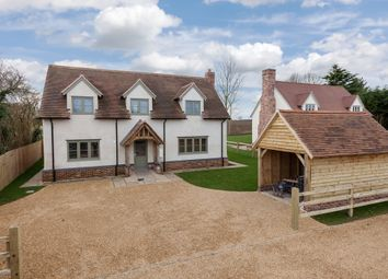 Thumbnail 3 bedroom detached house for sale in Common Road, Weston Colville, Cambridge