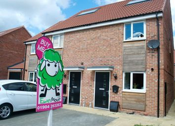 Thumbnail 2 bedroom end terrace house for sale in Turner Close, York