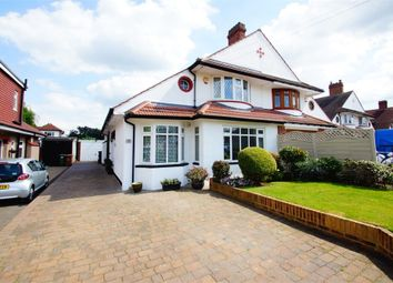 Thumbnail 4 bed semi-detached house for sale in Braundton Avenue, Sidcup, Kent