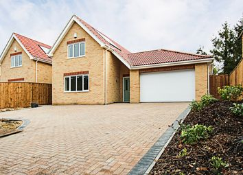 Thumbnail 4 bed detached house for sale in Low Road, Burwell