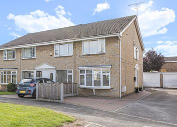 Thumbnail 2 bed end terrace house for sale in Field Avenue, Thorpe Willoughby, Selby