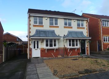 Thumbnail 2 bed semi-detached house to rent in Blandford Close, Longton, Stoke-On-Trent