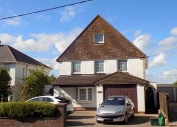Thumbnail 4 bed detached house for sale in Exeter Road, Exmouth, Devon