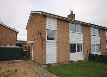 Thumbnail 2 bed semi-detached house for sale in Meadow Lane, Northallerton