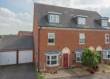Thumbnail 3 bed town house for sale in Hedgers Way, Chartfields, Ashford