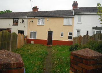 Thumbnail 3 bed terraced house to rent in Granville Crescent, Stainforth, Doncaster