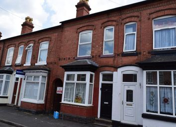 Thumbnail 3 bed terraced house to rent in Majuba Road, Edgbaston, Birmingham