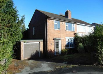 Thumbnail 3 bed semi-detached house for sale in Hereford Avenue, Clayton, Newcastle-Under-Lyme
