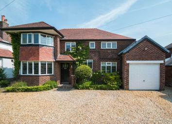 Thumbnail 4 bed detached house for sale in Rydal Drive, Hale Barns, Altrincham