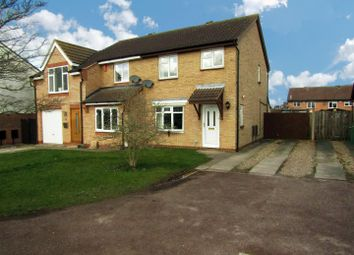 Thumbnail 3 bed semi-detached house for sale in Meadow Court, Narborough, Leicester